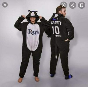 Tampa Bay Rays DJ Kitty Onsie NWT